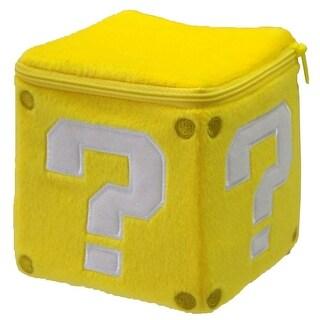 "Super Mario Bros Nintendo 5"" Plush Coin Box - multi"
