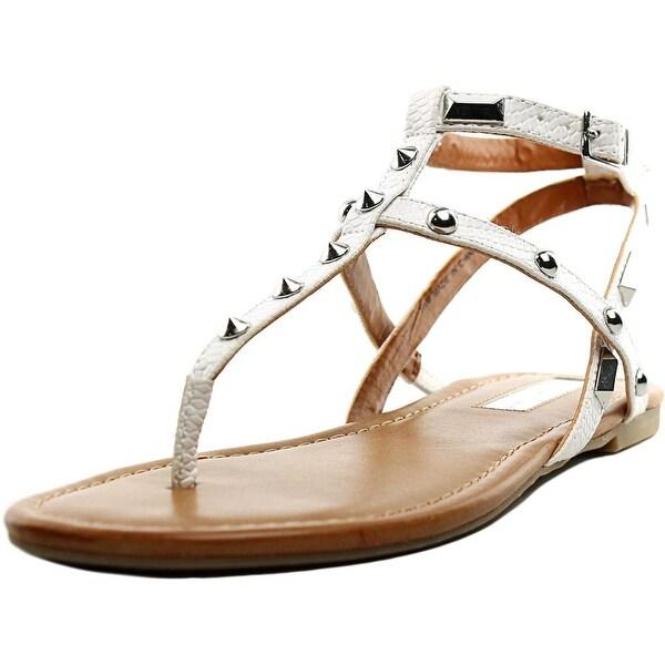 INC International Concepts Mirabai 2 Women Bright White Sandals