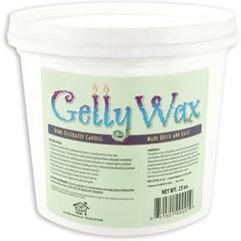 Clear - Gelly Candle Wax 25Oz