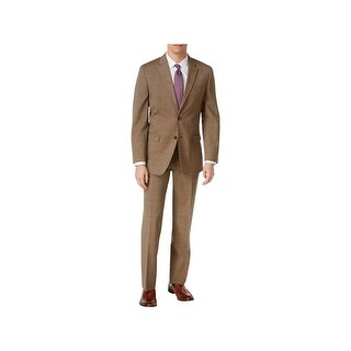 Tommy Hilfiger Mens Vasser Two-Button Suit Wool Tailored Fit - 44s
