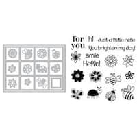 Windows - Sizzix Framelits Dies 14/Pkg W/Stamps By Stephanie Barnard