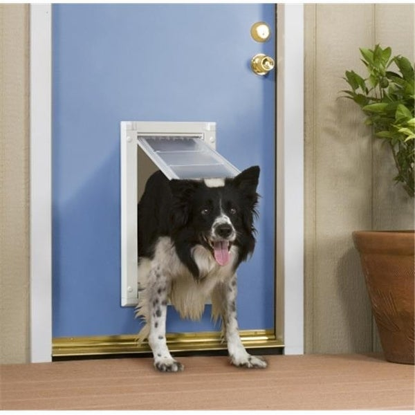 Shop Patio Pacific Endura Flap Pet Door For Doors Number 08   Double Flap    Free Shipping Today   Overstock.com   23301968