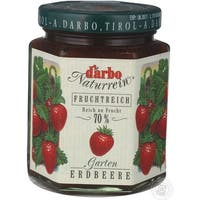 D'Arbo All Natural Fruit Spread - Garden Strawberry - Case of 6 - 16 oz.