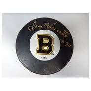 Signed Marcotte Don Boston Bruins Boston Bruins Hockey Puck autographed