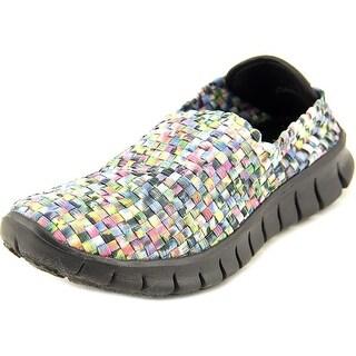 Corkys Joann Round Toe Canvas Walking Shoe