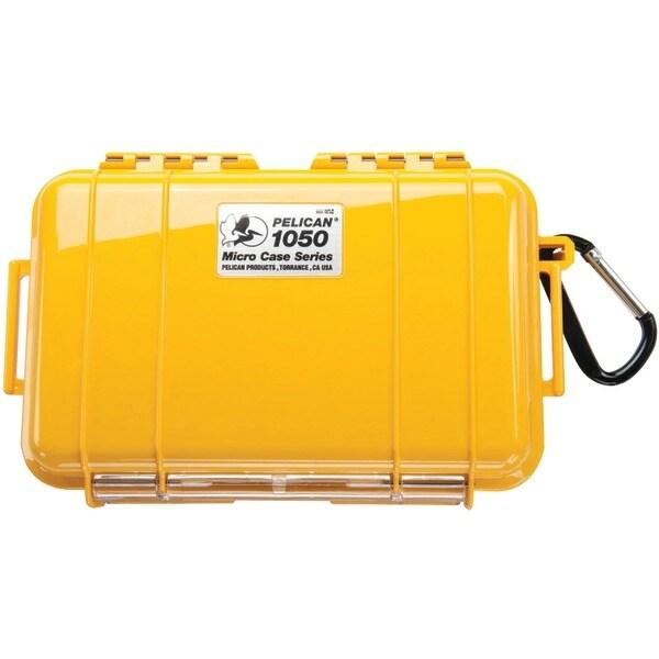 Pelican 1050-025-240 1050 Micro Case(Tm) (Yellow/Solid)