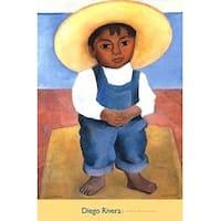 ''Retrato de Ignacio Sanchez'' by Diego Rivera Museum Art Print (32 x 24 in.)