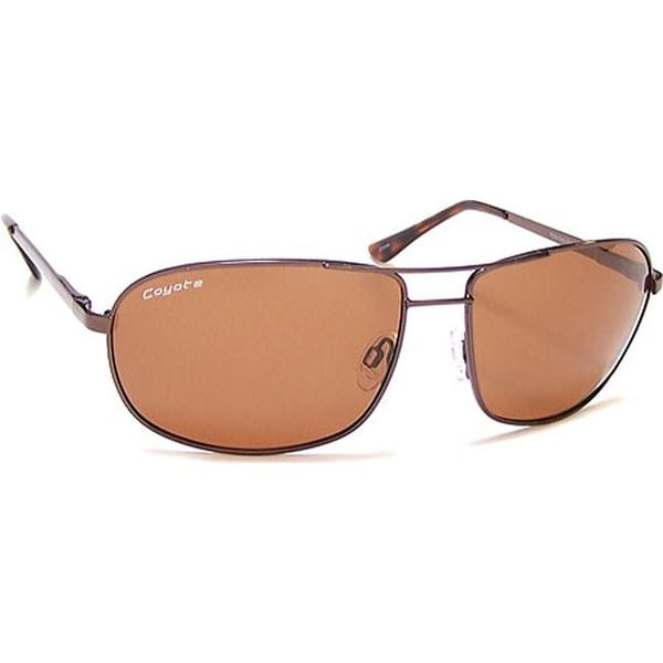 ab91c72ed840 Shop Coyote Eyewear Duke Polarized Street and Sport Sunglasses Dark  Brown Brown - US One Size (Size None) - On Sale - Free Shipping Today -  Overstock - ...