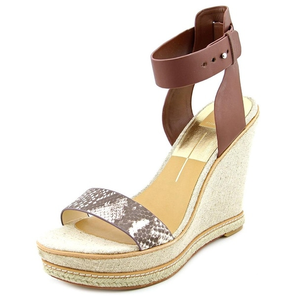 Dolce Vita Heath  Women  Open Toe Leather  Wedge Sandal
