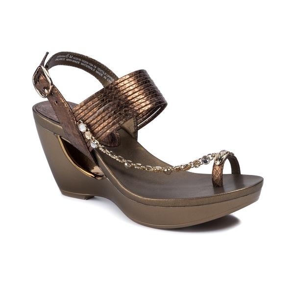 b8c7ccfc46e8 Shop Andrew Geller ARRIANA Women s Sandals   Flip Flops Bronze ...