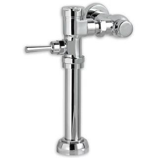 "American Standard 6047.525  1.28 Exposed Toilet Flush Valve for 1-1/2"" Top Spud Installation - Chrome"