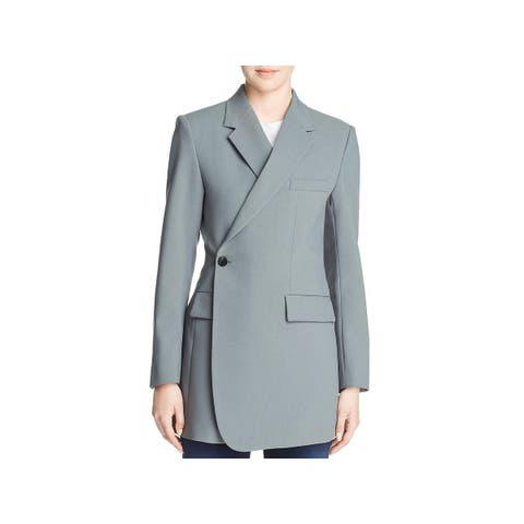 Theory Womens Prospective Light Blazer Lined Single Vent - 6