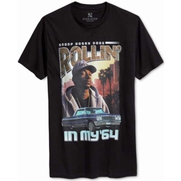 5cfcd0fe Shop NY Horizon NEW Men's Black Size XL Snoop Dogg Rollin Graphic Tee  T-Shirt - Free Shipping On Orders Over $45 - Overstock - 18326408
