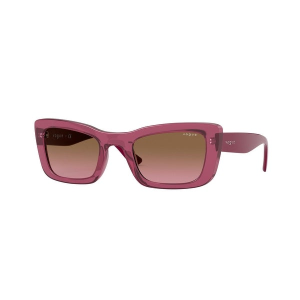 Vogue VO5311S 279814 49 Transparent Cherry Woman Pillow Sunglasses. Opens flyout.