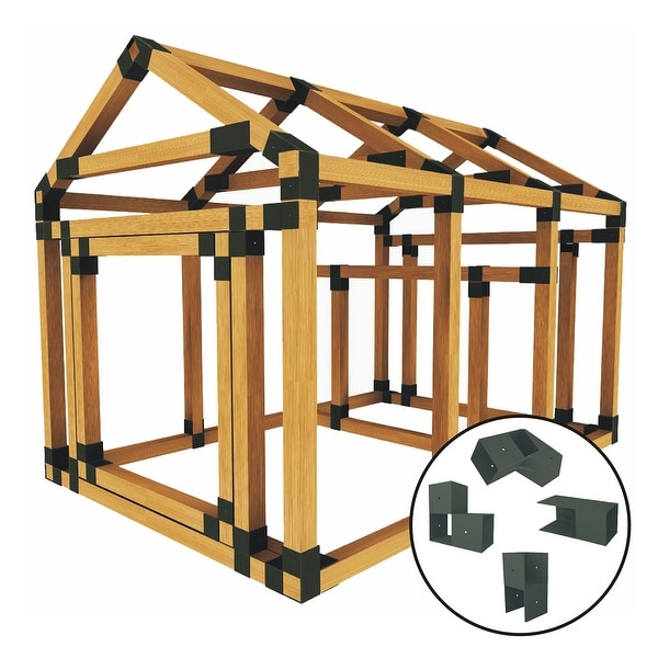 Shop Build Your Own E Z Frame 38x60 Standard Chicken Coop And Run
