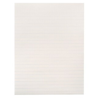 School Smart Newsprint Paper, California Approved, 8 x 10-1/2 Inches, White, 500 Sheets