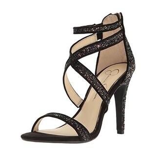 Jessica Simpson Womens Ellenie 2 Dress Sandals Open Toe Glitter