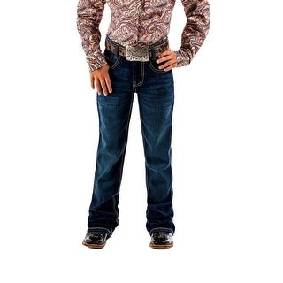 Cruel Girl Western Denim Jeans Girl Lucy Mid Rise Dark Wash