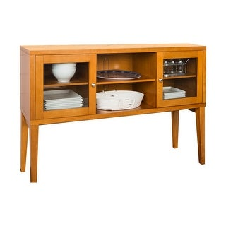 """Offex 52"""" Hepworth Wood Buffet with Tapered Legs - Acorn"""