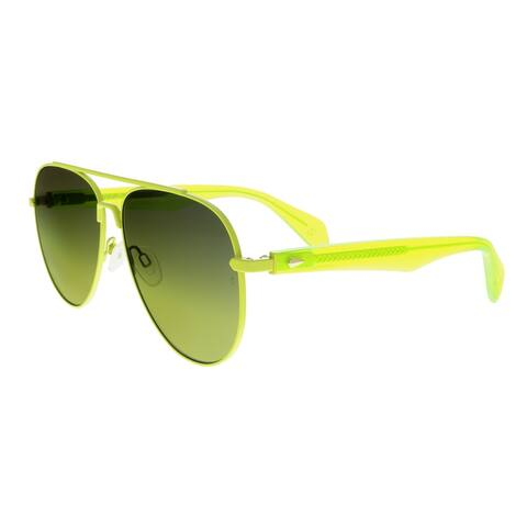 Rag & Bone RNB5003/S 0DLD GY Yellow Aviator Sunglasses - 62-14-145