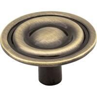 "Elements 875  Kingsport 1-5/16"" Diameter Mushroom Cabinet Knob"