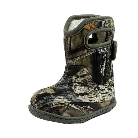 Bogs Outdoor Boot Kids Baby Camouflage Plush Lining Waterproof