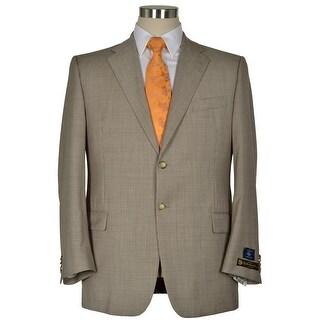 Joseph Abboud Signature Brown Super 110's Wool Sportcoat 44 Regular 44R Blazer