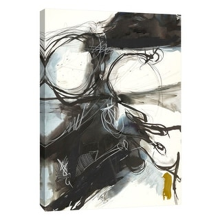 """PTM Images 9-105135  PTM Canvas Collection 10"""" x 8"""" - """"Riptide 4"""" Giclee Abstract Art Print on Canvas"""