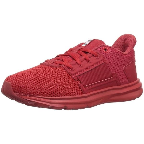 a38f84195bf Shop PUMA unisex-kids Enzo Street Sneaker - 2.5 M US Little Kid ...