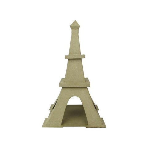 "PA Paper Mache Eiffel Tower B 12"""