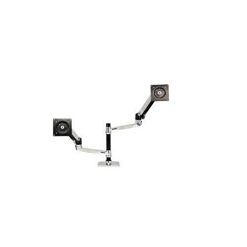 Ergotron 45-248-026 Lx Dual Desk Mount Stacking Arm