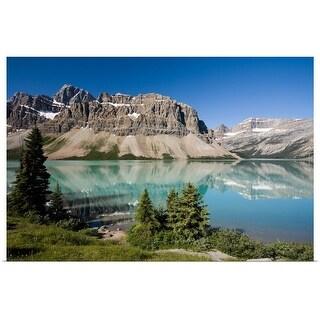 """Bow Lake, Canada"" Poster Print"