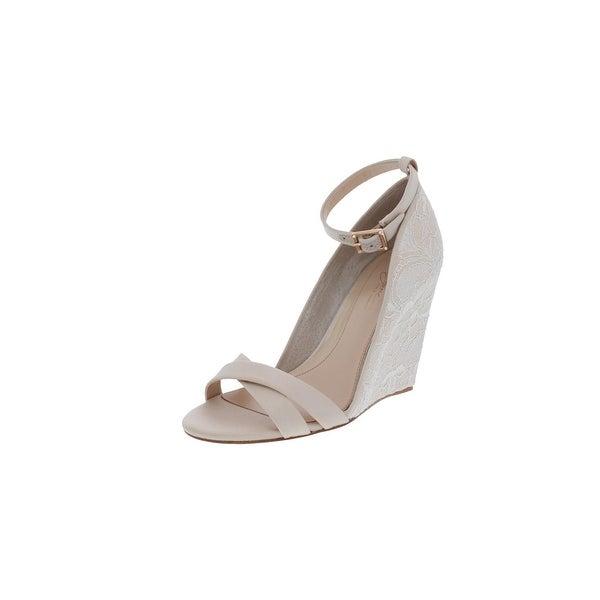 1e5f86130b Imagine Vince Camuto Womens Lilo Dress Sandals Satin Lace Overlay - 6  medium (b,