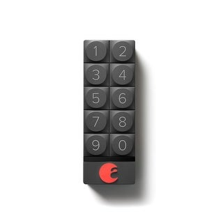 August AUG-AK01-M01 Smart Keyless Entry Keypad - Dark Gray - N/A