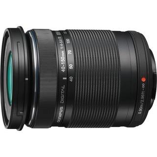 Olympus V315030BU000 Olympus M.ZUIKO DIGITAL 40 mm - 150 mm f/4 - 5.6 Zoom Lens for Micro Four Thirds - 58 mm Attachment - 0.16x