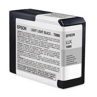 Epson T5809 UltraChrome K3 Light Light Black Cartridge Ink