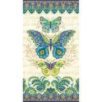 "8""X15"" 14 Count - Peacock Butterflies Counted Cross Stitch Kit"