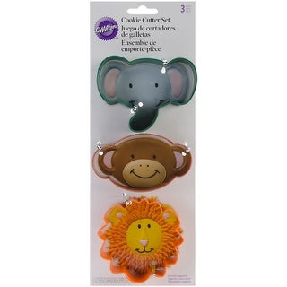 Metal Cookie Cutter Set 3/Pkg-Jungle
