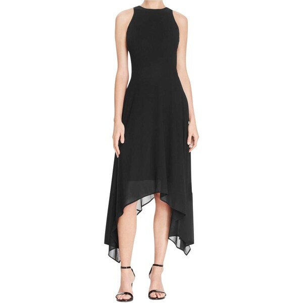 MICHAEL Michael Kors Womens Casual Dress Sleeveless Hi-Low