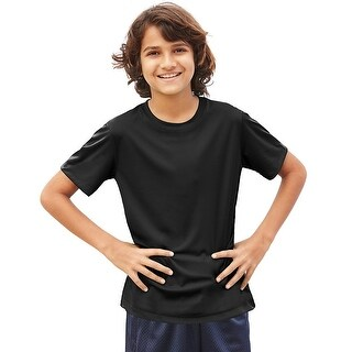 Hanes Cool DRI® Youth T-Shirt - Size - S - Color - Black