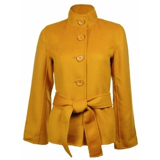 Link to Sutton Studio Women's Cashmere & Wool Flare Sleeve Jacket Petites Similar Items in Suits & Suit Separates