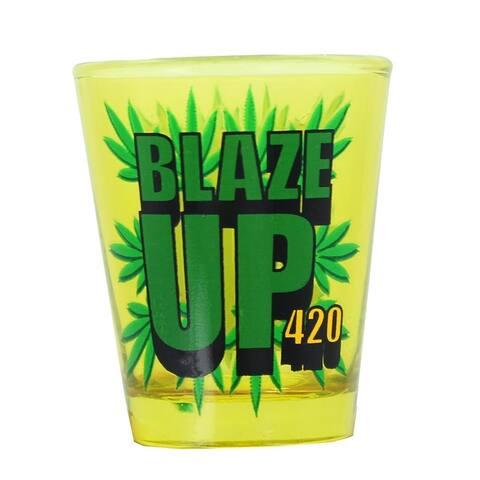 Blaze Up Shot Glass - Multi