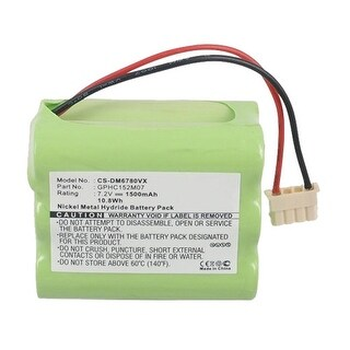 Replacement Battery for Dirt Devil DM6780VX (Single Pack)