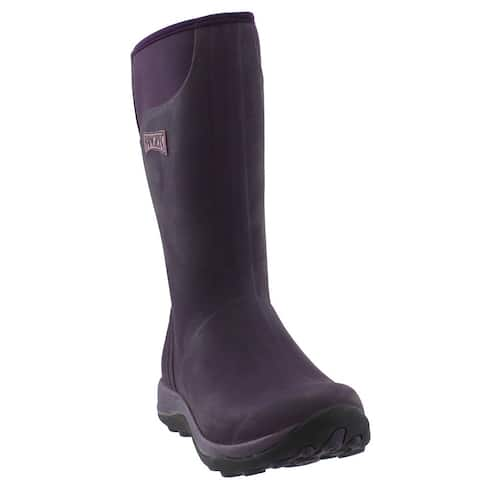 Ranger Ranger Pike Wp Zip Womens Boots Mid Calf - Purple