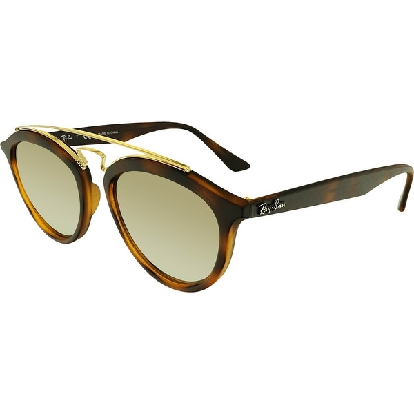 926f3b9d21 Shop Ray-Ban Mirrored Gatsby II RB4257-60925A-53 Brown Round Sunglasses -  Free Shipping Today - Overstock.com - 18900475