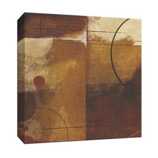 "PTM Images 9-152976  PTM Canvas Collection 12"" x 12"" - ""Geometric Spice II"" Giclee Abstract Art Print on Canvas"