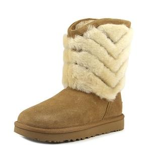 Ugg Australia Tania   Round Toe Suede  Winter Boot