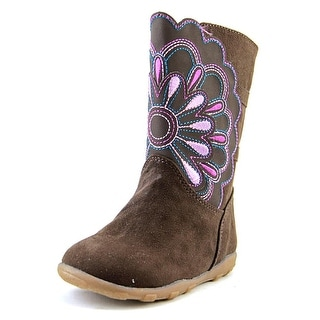 Stride Rite Bianca W Round Toe Synthetic Mid Calf Boot