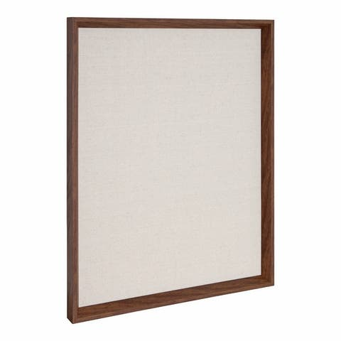 Kate and Laurel Calter Framed Linen Fabric Pinboard