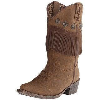 Blazin Roxx Western Boots Girls Kids Annabelle Youth Brown 4476802
